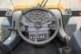 Lq956 de Lader van het Wiel van de Machines van de Bouw met Bedieningshendel voor Verkoop