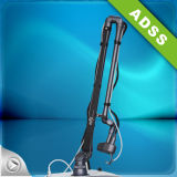 Laser frazionario del tubo del metallo di ADSS rf per ringiovanimento della pelle