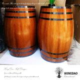 Hongdao 포도주 재산 Wholesale_L를 위한 주문 나무로 되는 포도주 배럴