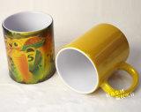 taza de cerámica del brillo de la sublimación 11oz