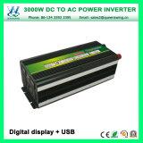 Inverseurs automatiques portatifs du pouvoir 3000W utilisés par maison (QW-M3000)
