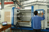 Torno para corte de metales del CNC Qk1335 con el huso grande