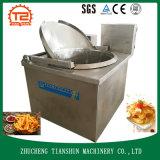 Alimento/virutas/pescados fritos máquina semiautomáticos/pollo/filete/Tsbd-12 de la transformación de los alimentos de bocado de la máquina que fríen