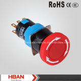 Hban (16mm) Waterproof Emergency Stopp Pushbutton Switch
