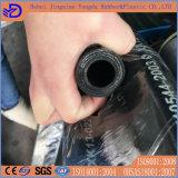 Tubo flessibile di gomma idraulico del tubo flessibile della treccia del filo di acciaio del tubo flessibile di pressione