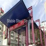 Pabellón ligero de la estructura de acero al Carport subterráneo