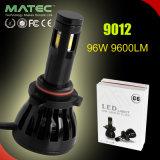 고/저 광속 전구 장비 12V/24V 9004/9007를 가진 자동차를 위한 96W/9600lm LED Headlighs