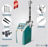 Лазер СО2 США когерентный частично для подмолаживания кожи кожи отделывая поверхность с головками Gynecology