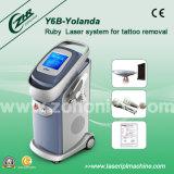 Vertikales Q-Schalter Nd: YAG Laser-Tätowierung-Abbau-Gerät