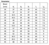 De Verbinding van de pomp, Mechanische Verbinding Burgmann Mg13, Aesseal B013, Umbra Fg3