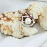 こんにちはキティの猫によって形づけられる培養された真珠のペンダント