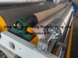 Máquina de laminação termoplástica para espuma com tecido