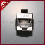 Modulo in-linea dell'accoppiatore schermato 8X8 RJ-45 8P8C Cat5E della rete