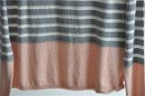 سيدات [ستريبد] عنق مستديرة [بولّوفر] [نيت] كنزة