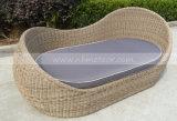 Im Freien Weidengarten-Möbel-Sofa gesetztes Mtc-288