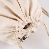 Sac de cordon normal de sac de corde de coton