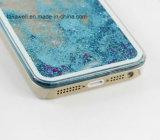 Caixa feita sob encomenda barata do PC do Quicksand para o iPhone 5 caso da tampa do telemóvel da areia de 6 líquidos
