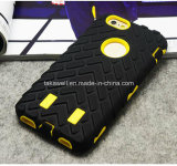 iPhone 5/5s/Se/6s/6 Mobile Cover Caseのための2016新しいProductのパソコンSilicone Tire Cell Phone Armor Cases