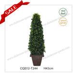 Erba artificiale del giardino dell'albero della decorazione domestica