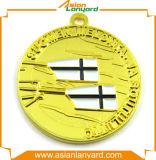 Médaille en alliage de zinc en métal 3D de promotion