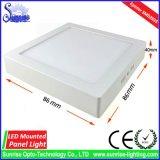 AC85-265V 3W 정연한 거치된 LED 위원회 천장 빛