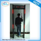Portello del metal detector di rilevazione di obbligazione di 33 zone