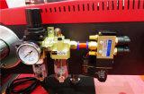 Prensa de calor pneumática de estação dupla