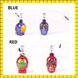 Heiße verkaufenschädel farbige zeichnende Glaswasser-Rohr-Huka