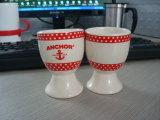Coquetier en céramique, tasse d'oeufs, tasse en céramique d'oeufs