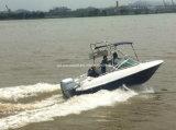 Barco de /Motor do barco da velocidade da fibra de vidro de Aqualand 17feet 5.2m Bowrider/(170br)