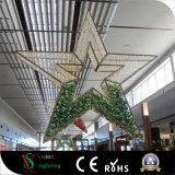 عيد ميلاد المسيح مركز تجاريّ زخرفيّة [لد] نجم أضواء