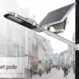 iluminación solar semi integrada ajustable de la calle LED del corchete 20W