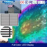 Murs extérieurs polychromes contrastés de l'Afficheur LED DEL de la vente chaude HD
