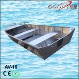 Luxux-Handels Typ alles geschweißte Aluminiumboot ohne Niet