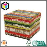 De Reeks van het Vakje van de Gift van het Document van Kerstmis van het Ontwerp van de Kleur van de luxe