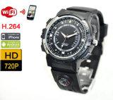 WiFi Uhr-Kamera-drahtloses intelligentes Videogerät über APP
