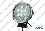 7 pouces 12PCS * 5W lumière de travail du CREE 60W DEL, pilotant la lampe