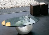 Euro Grijs of het Brons Aangemaakte Glas van het Meubilair van de Tuin van het Glas van het Tafelblad