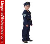 Polizeibeamte-Rollen-Spiel-Kostüm Halloween-Little Boys deluxes