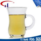140 ml Diseño Nueva taza de cristal claro de la cerveza (CHM8054)