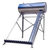 Géiser solar de energía solar solar del calentador de agua del acero inoxidable (presión solar)