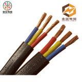 Изолированный PVC водоустойчивый провод электрического кабеля минирование