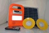 FM 라디오 SD 선수 MP3와 가진 태양 홈 LED 점화 장비