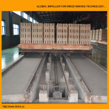 Estufa de túnel do tijolo da argila na linha de produção do tijolo