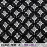 Bordado tela de algodón (96316)