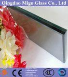 euro- vidro laminado reflexivo cinzento de 12.38mm
