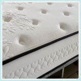 Patrón acolchar flor almohada gruesa Topper cama de muelles del colchón