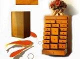 Шкаф ящиков твердой древесины деревянный (M-X1040)