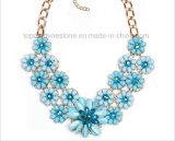 Ожерелье ювелирных изделий женщины неоновый ожерелья ожерелья ювелирных изделий Rhinestone 2016 Beaded стеклянное (TP-204)
