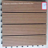 300 * 300 * 22mm WPC Easy Installation Bricolage Decking Tiles